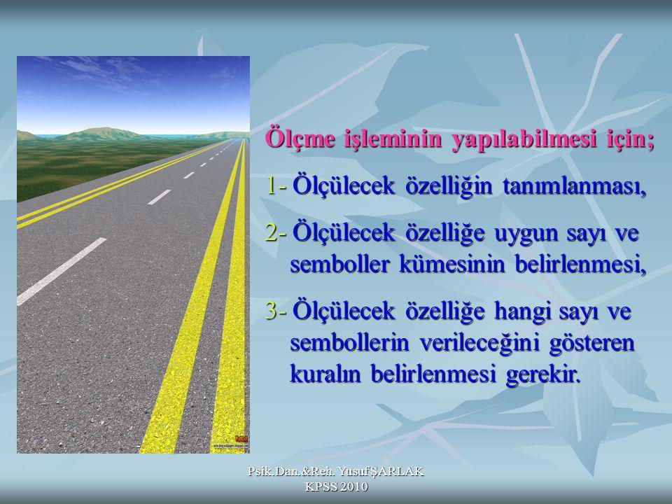 Psik.Dan.&Reh. Yusuf ŞARLAK KPSS 2010