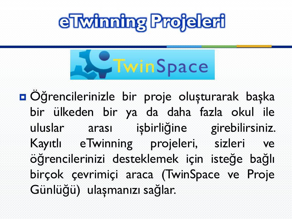 eTwinning Projeleri
