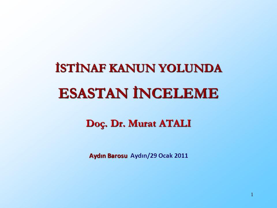 Aydın Barosu Aydın/29 Ocak 2011