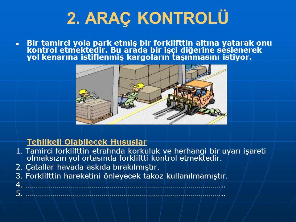 2. ARAÇ KONTROLÜ