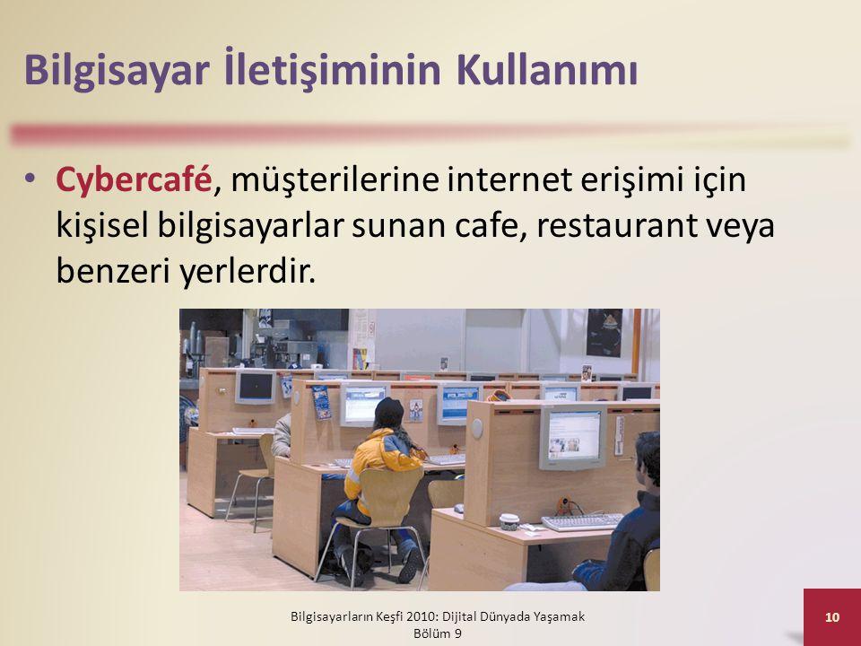 Bilgisayar İletişiminin Kullanımı