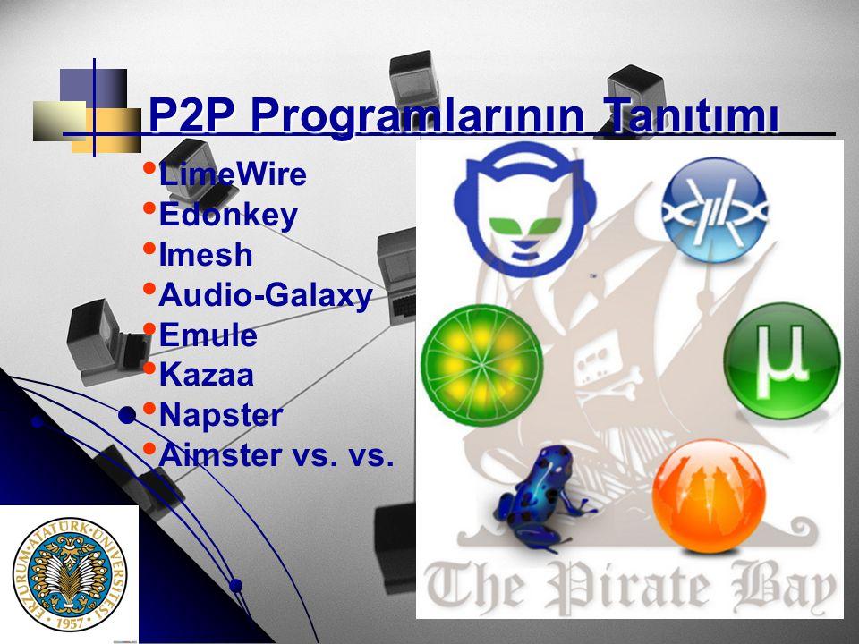 P2P Programlarının Tanıtımı
