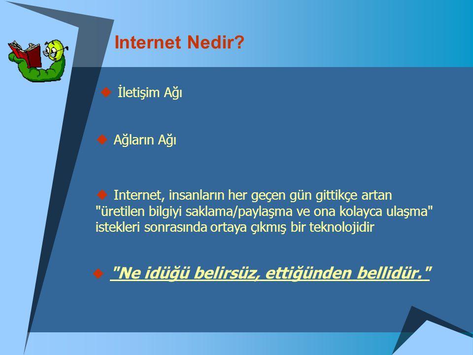 Internet Nedir İletişim Ağı Ağların Ağı