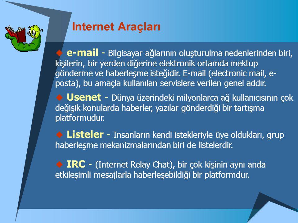Internet Araçları