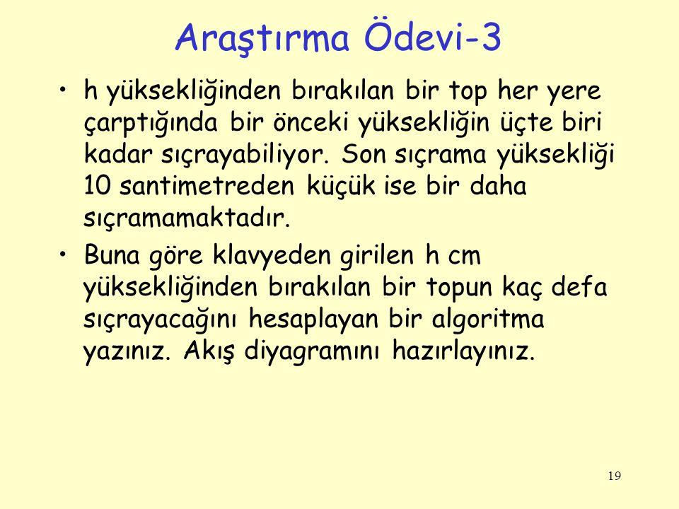 Araştırma Ödevi-3