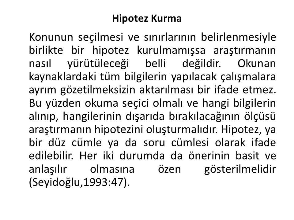Hipotez Kurma