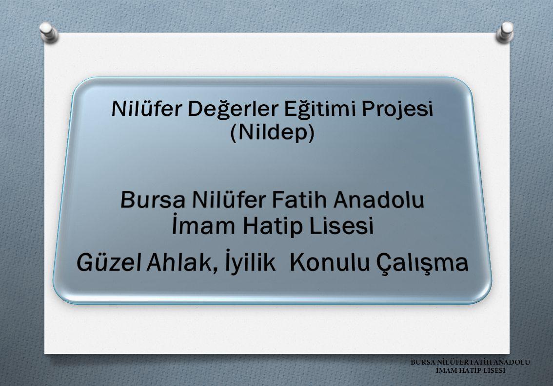 Nilüfer Değerler Eğitimi Projesi (Nildep)