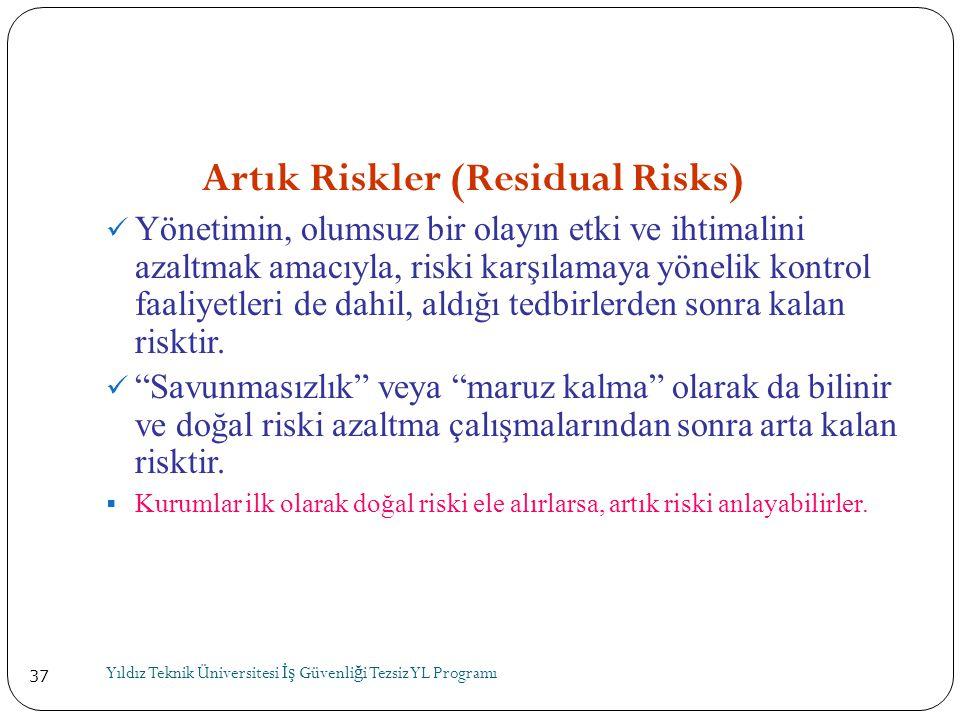 Artık Riskler (Residual Risks)