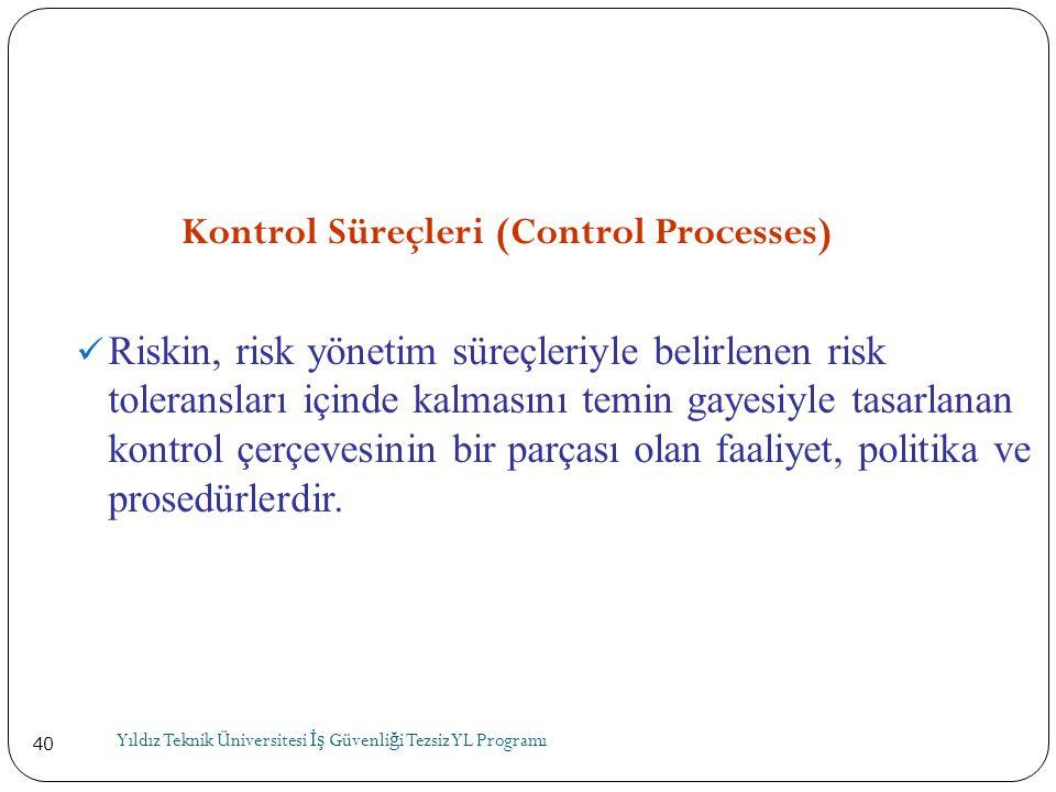 Kontrol Süreçleri (Control Processes)