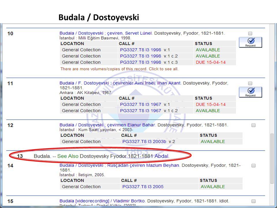 Budala / Dostoyevski