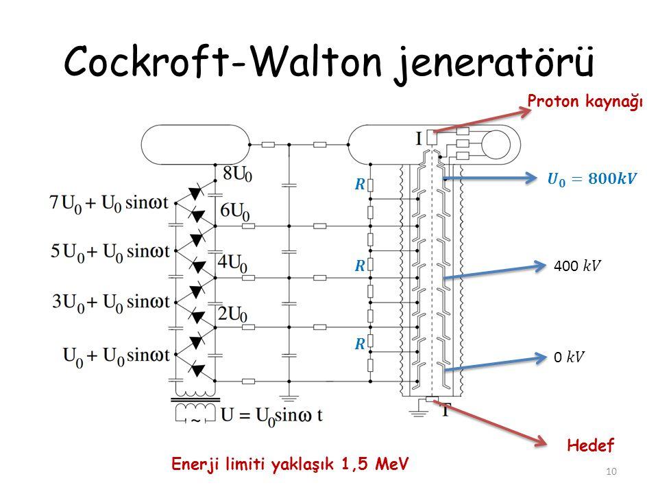 Cockroft-Walton jeneratörü