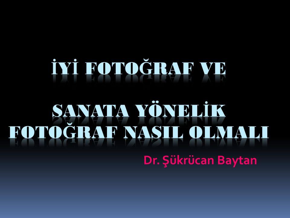 İyİ Fotoğraf ve Sanata Yönelİk Fotoğraf NasIl OlmalI