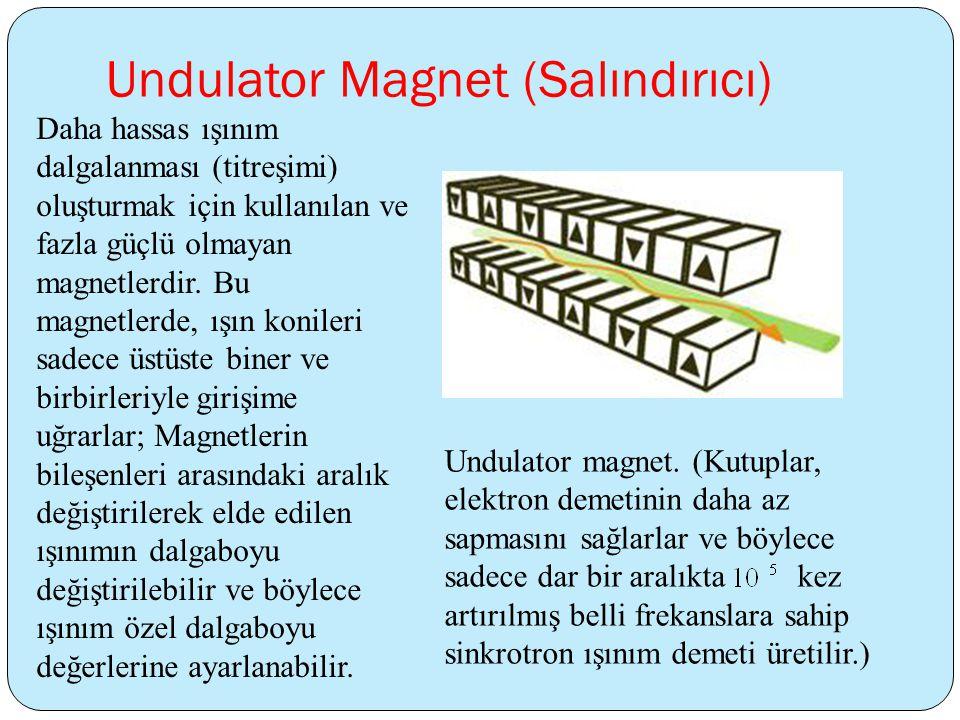 Undulator Magnet (Salındırıcı)