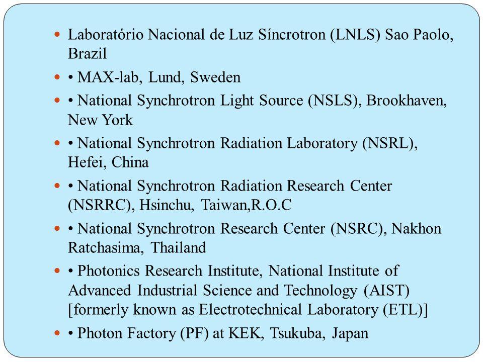 Laboratório Nacional de Luz Síncrotron (LNLS) Sao Paolo, Brazil