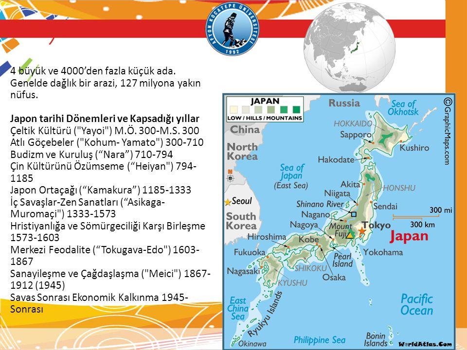 4 büyük ve 4000'den fazla küçük ada