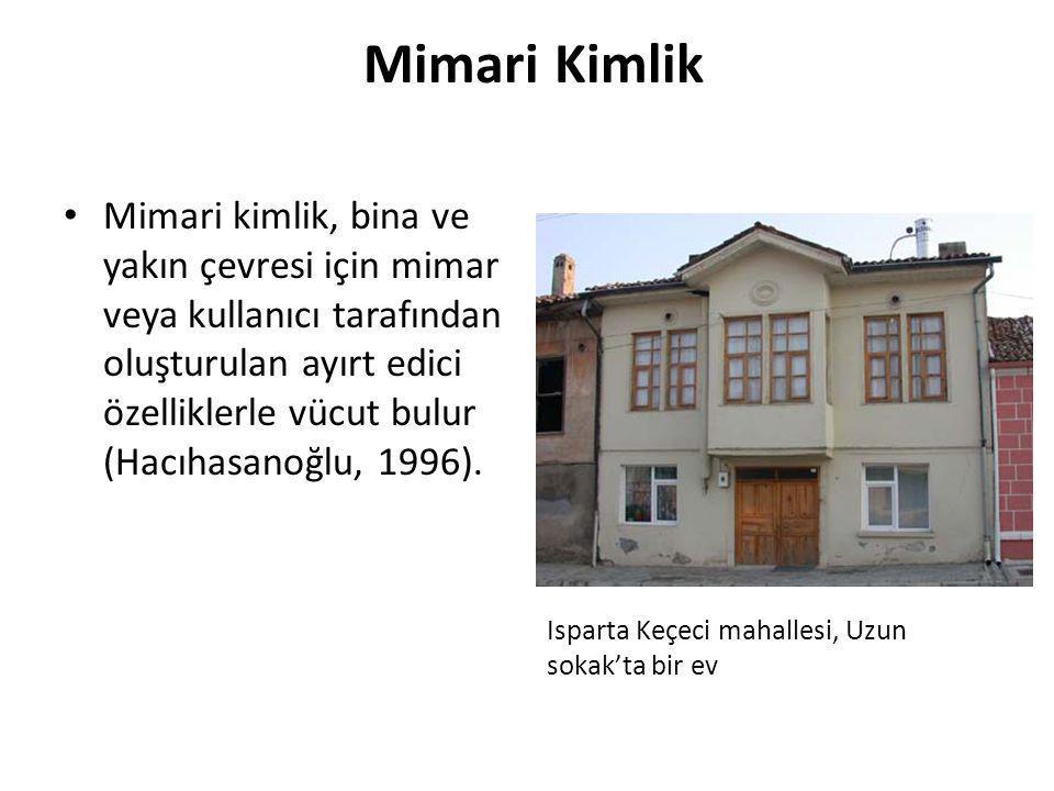 Mimari Kimlik