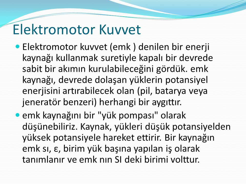 Elektromotor Kuvvet