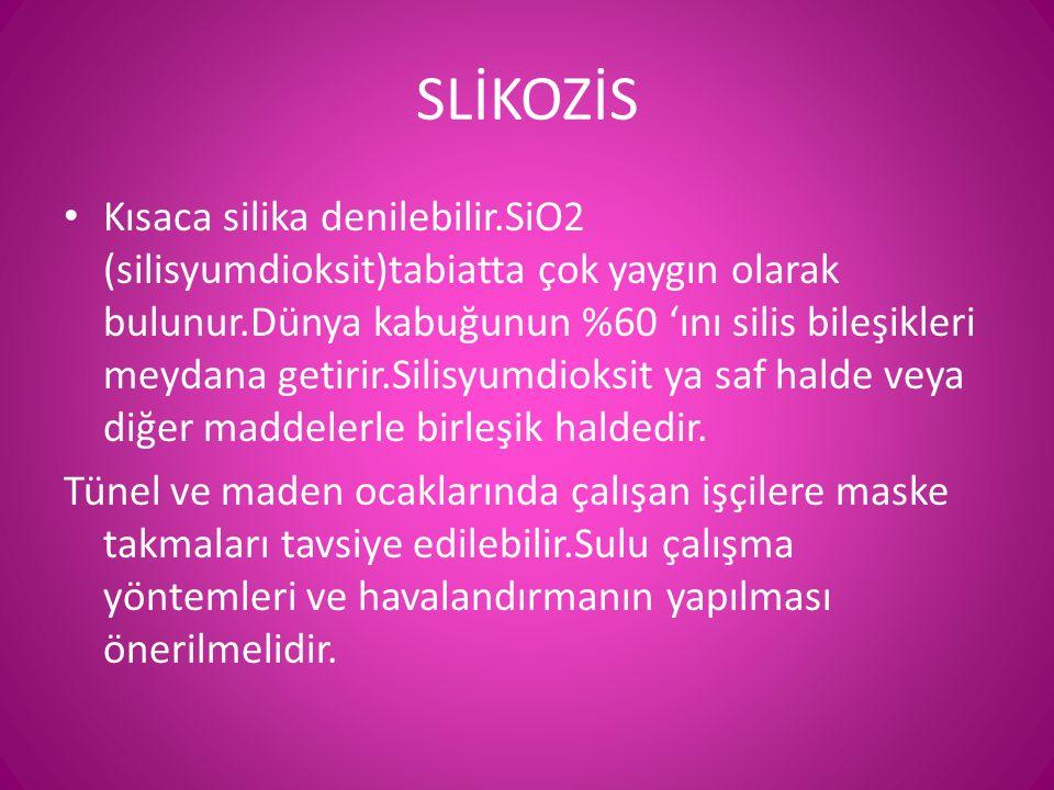 SLİKOZİS