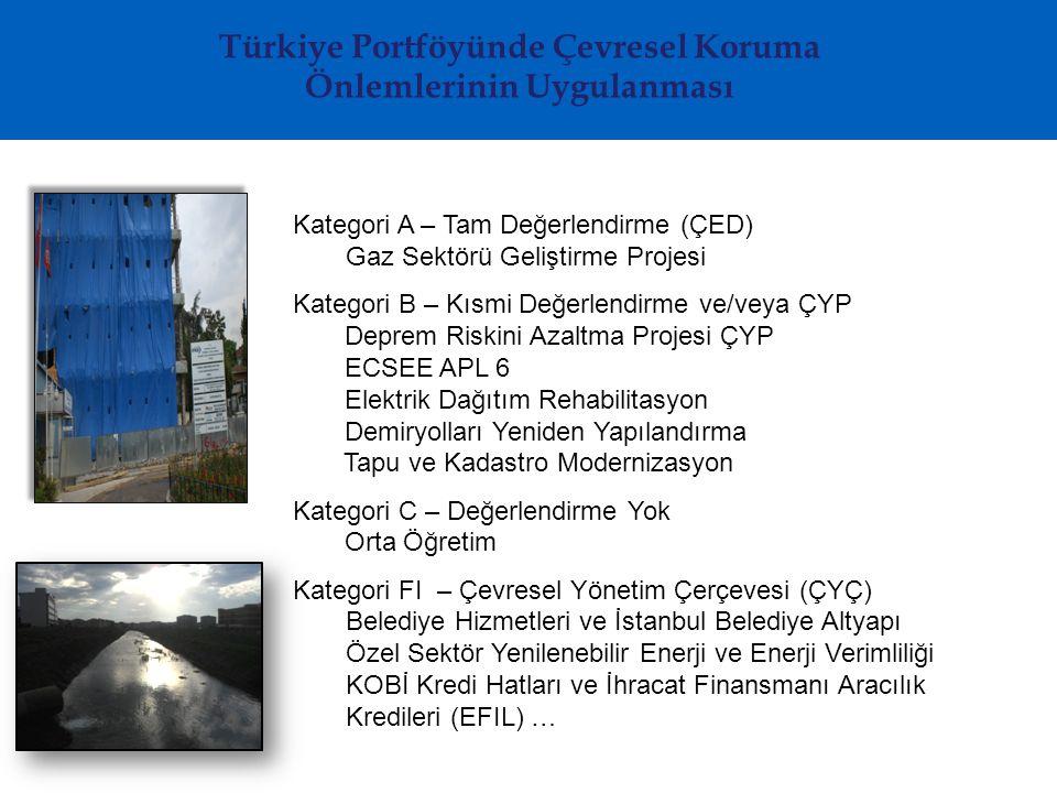 Türkiye Portföyünde Çevresel Koruma Önlemlerinin Uygulanması