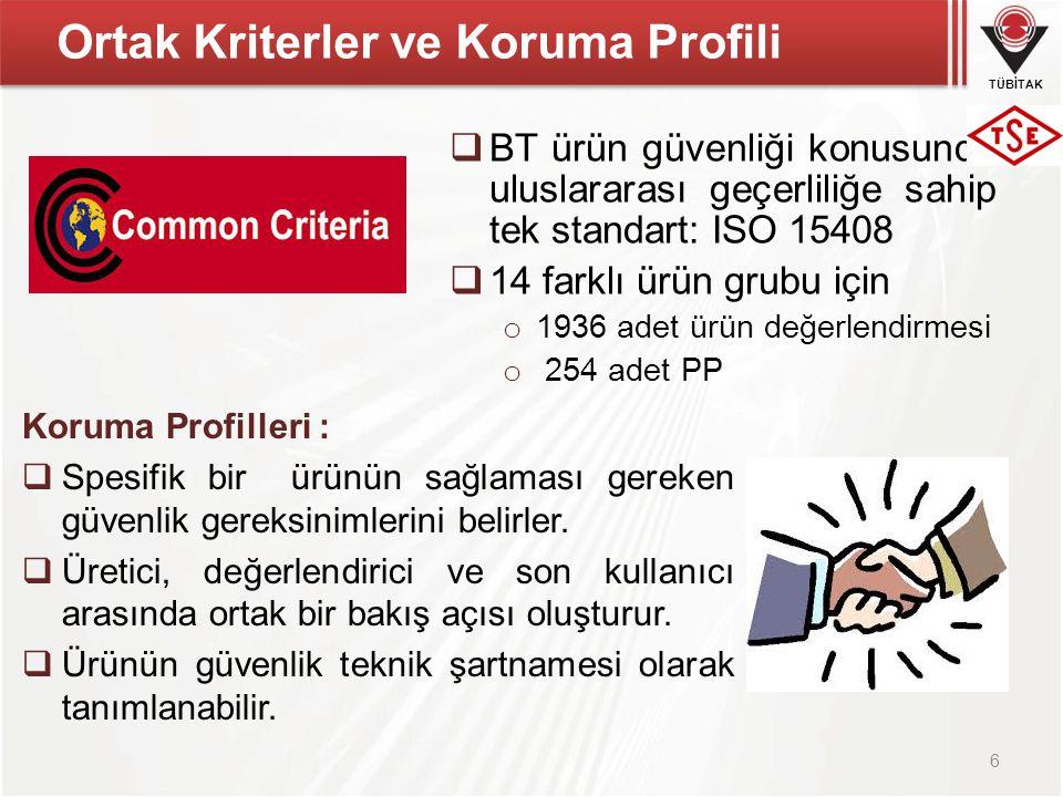 Ortak Kriterler ve Koruma Profili