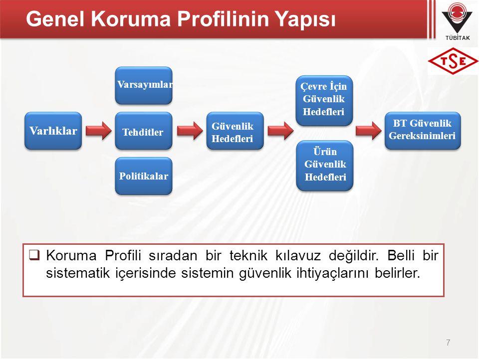 Genel Koruma Profilinin Yapısı
