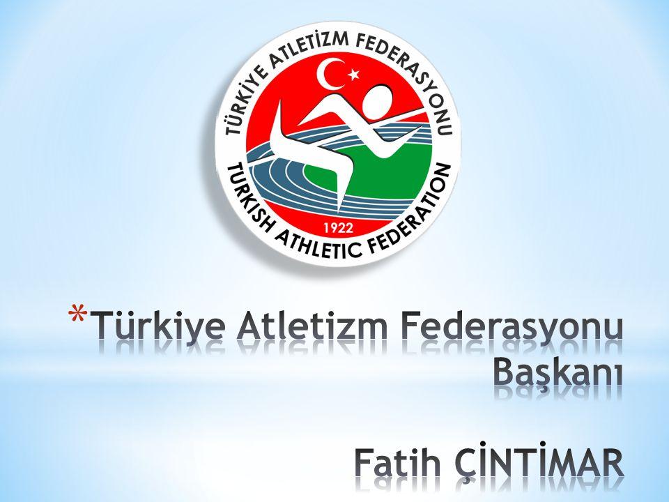 Türkiye Atletizm Federasyonu Başkanı Fatih ÇİNTİMAR