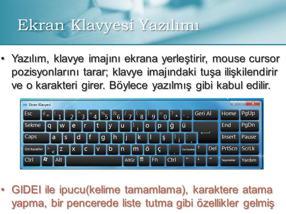 Ekran Klavyesi Yazılımı