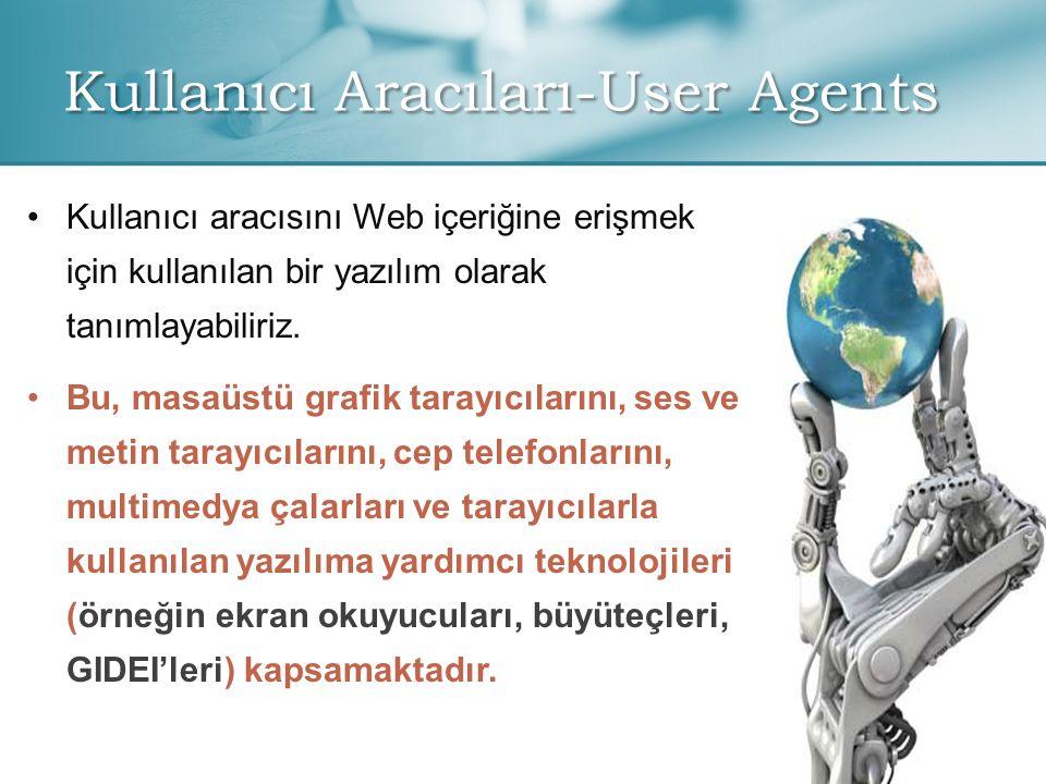 Kullanıcı Aracıları-User Agents