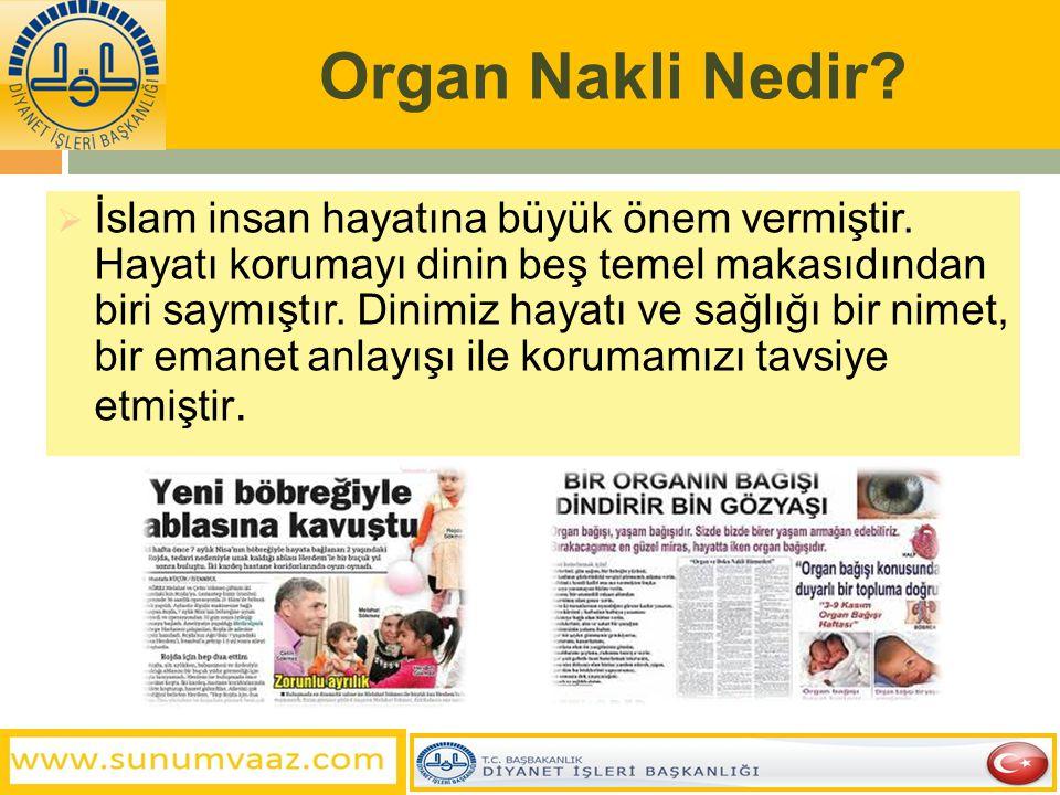 Organ Nakli Nedir