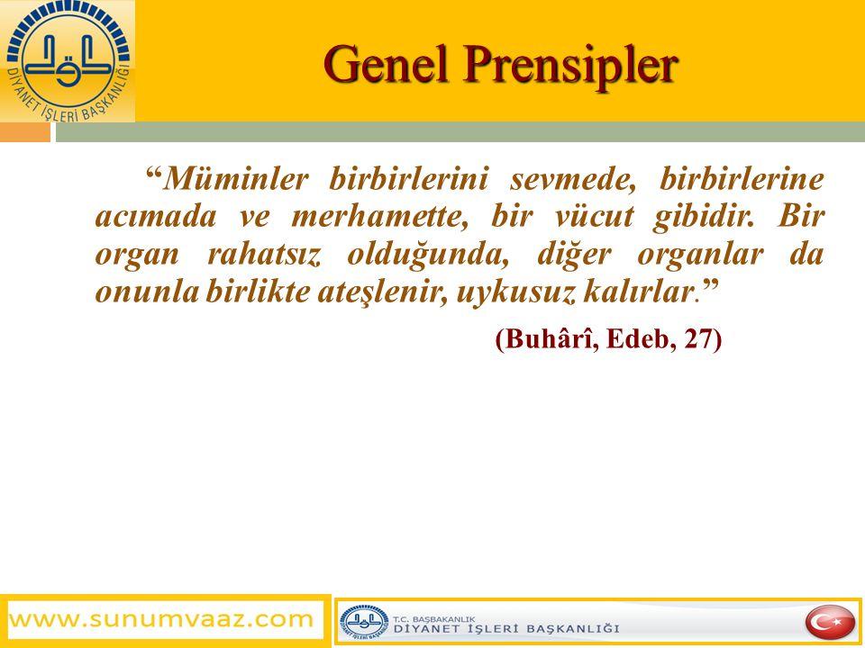 Genel Prensipler
