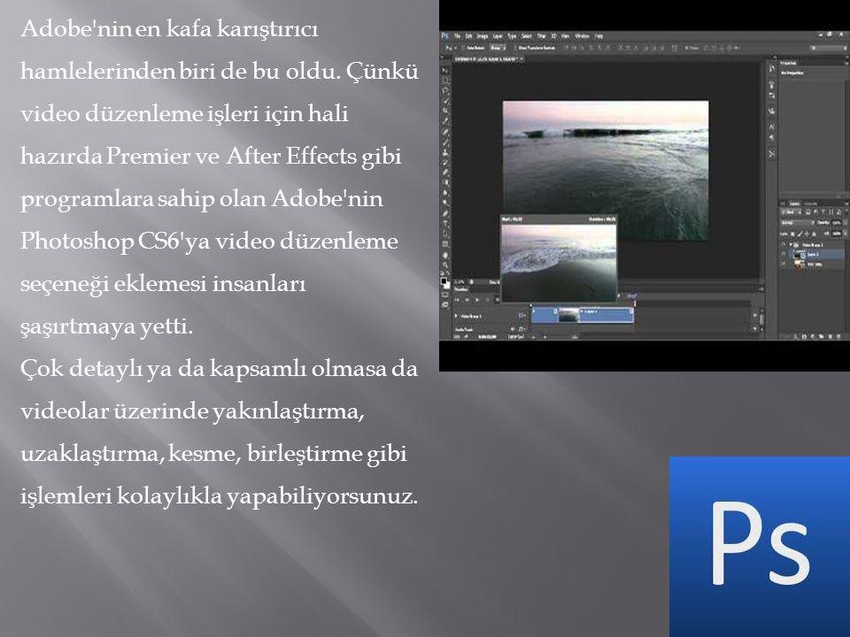 Adobe nin en kafa karıştırıcı hamlelerinden biri de bu oldu