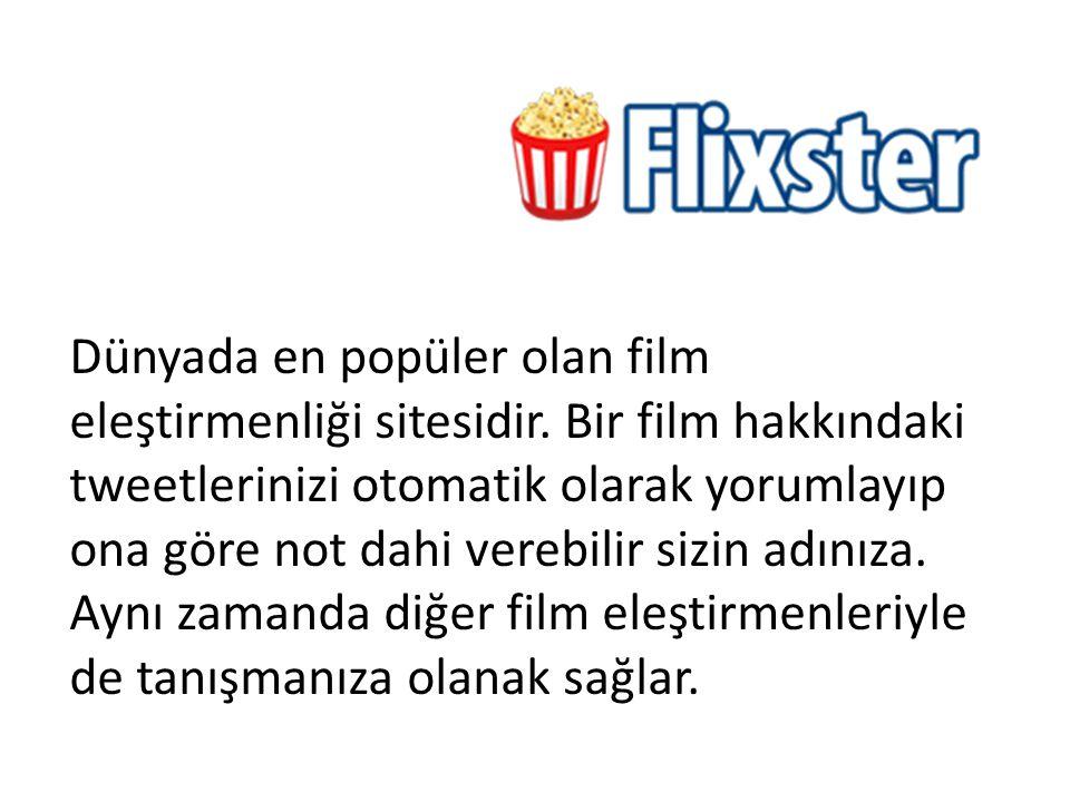 Dünyada en popüler olan film eleştirmenliği sitesidir
