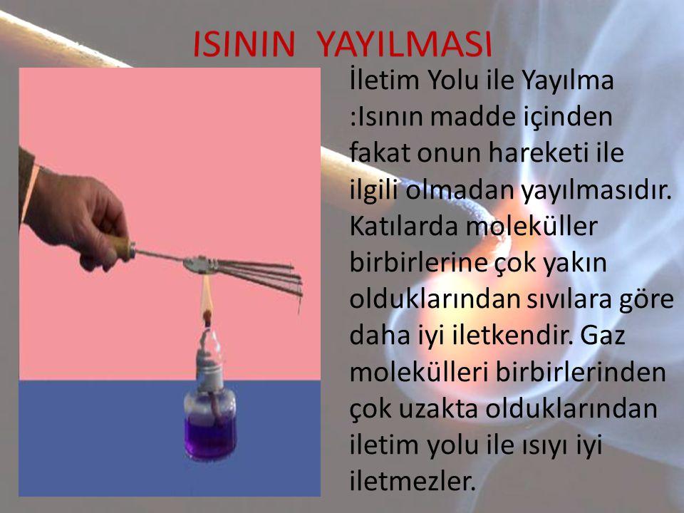 ISININ YAYILMASI
