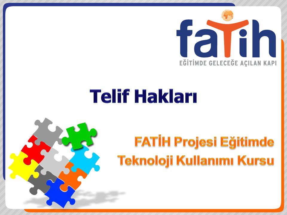 FATİH Projesi Eğitimde Teknoloji Kullanımı Kursu