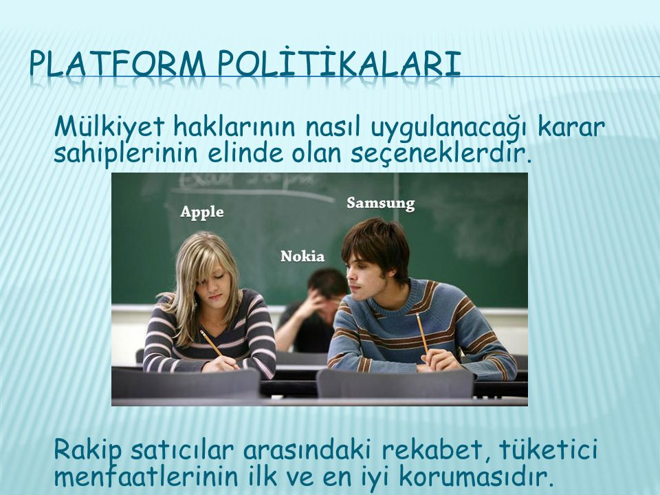 Platform PolİtİkalarI