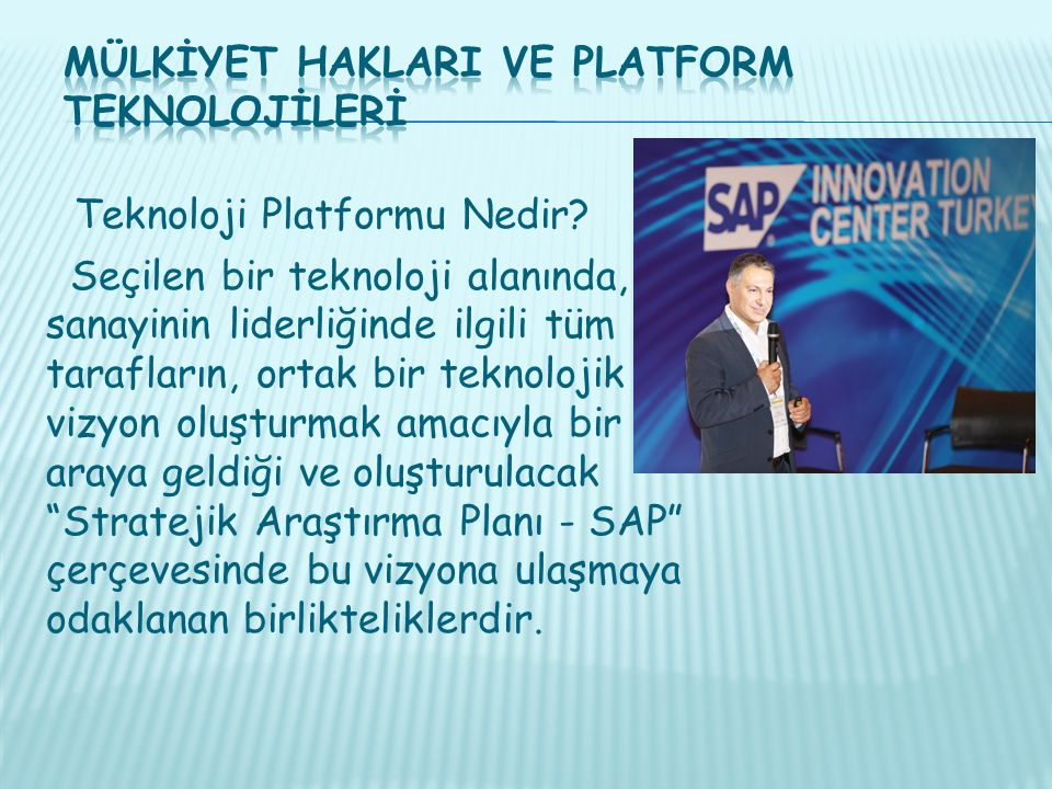 Mülkİyet HaklarI ve Platform Teknolojİlerİ