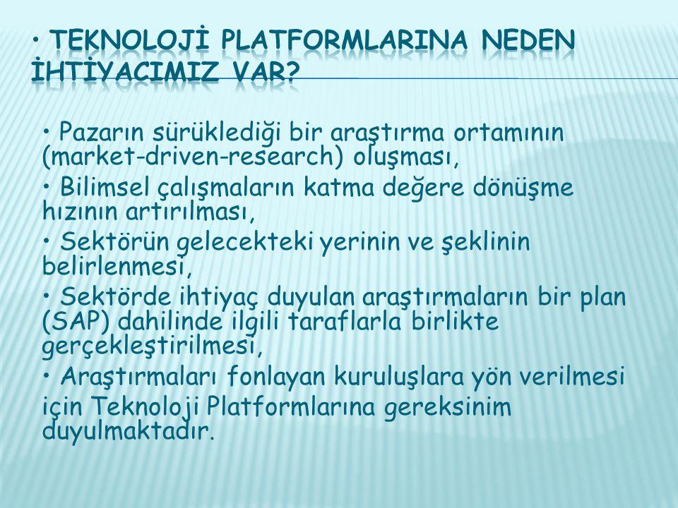 • Teknolojİ PlatformlarIna Neden İhtİyacImIz Var