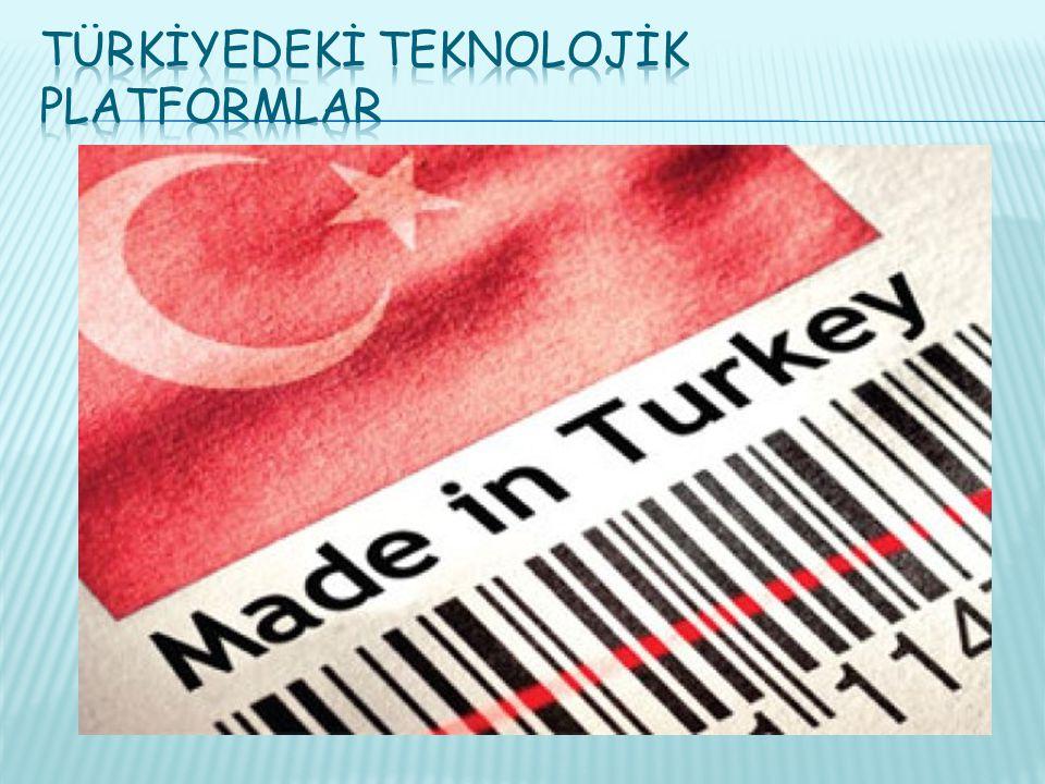 Türkİyedekİ Teknolojİk Platformlar
