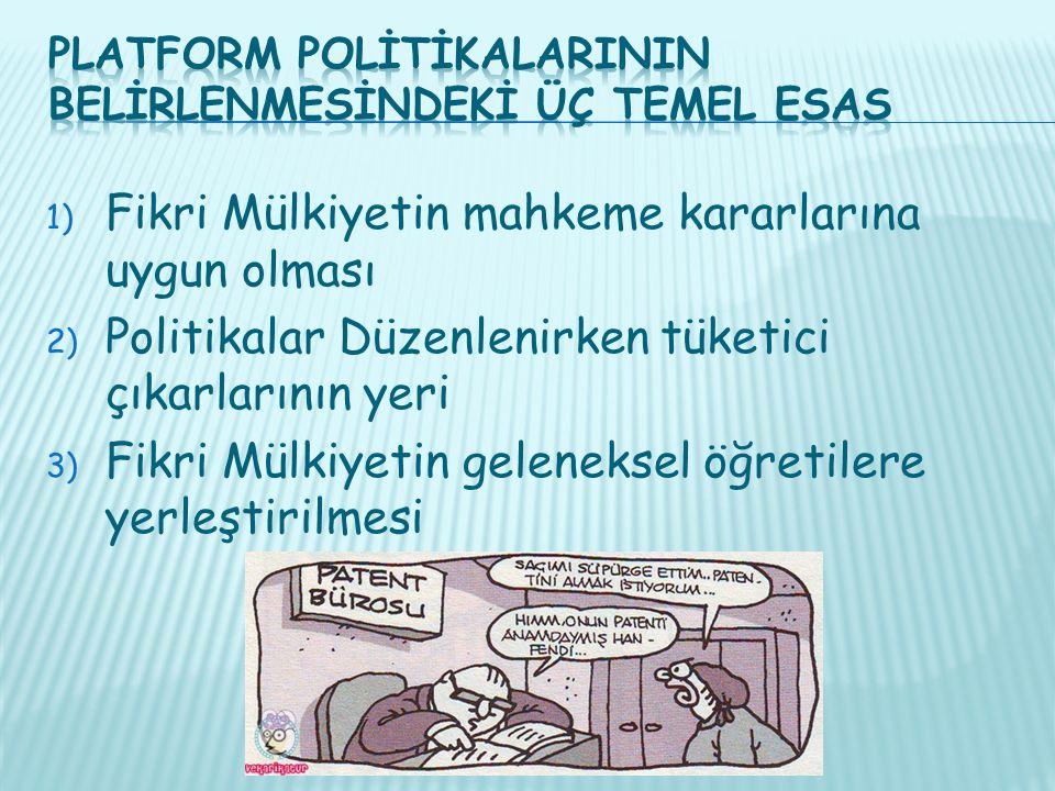Platform PolİtİkalarInIn BelİrlenmeSİndekİ Üç Temel Esas