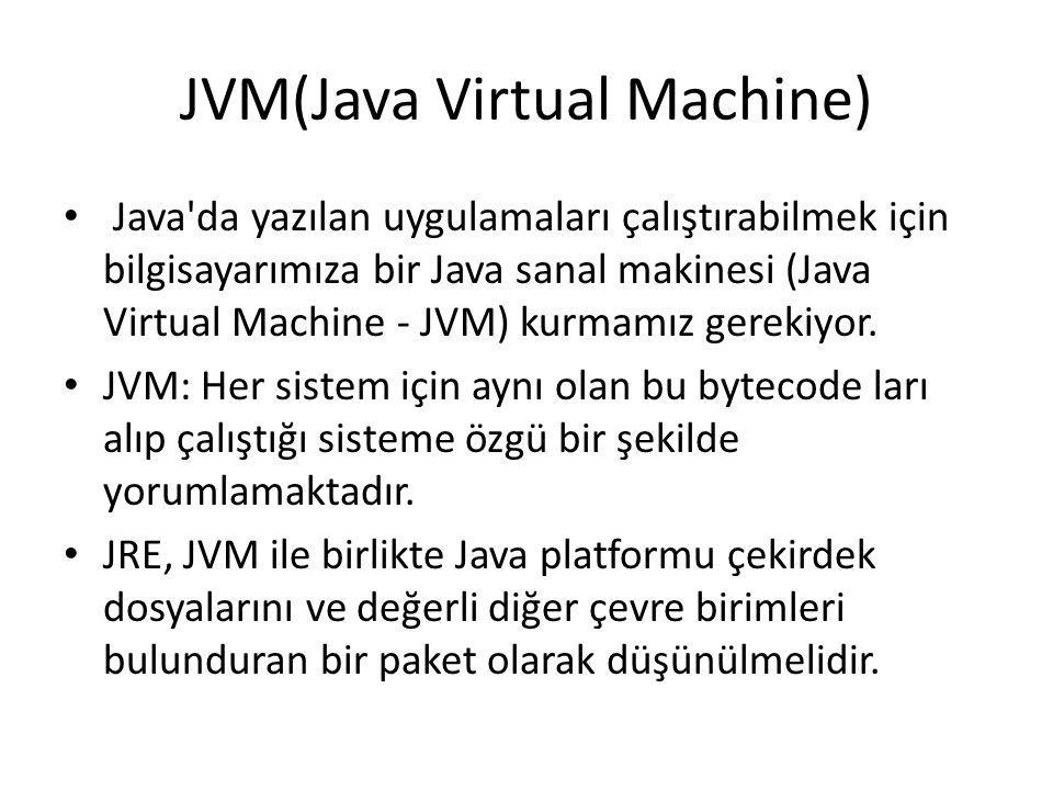JVM(Java Virtual Machine)