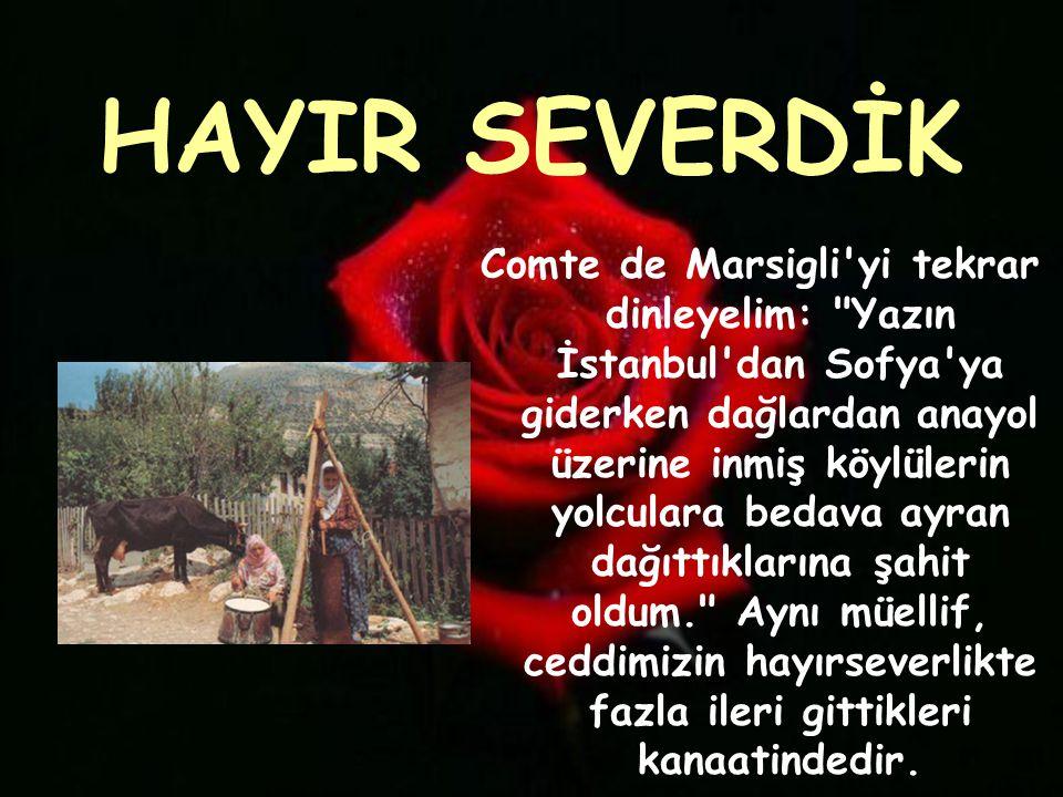 HAYIR SEVERDİK