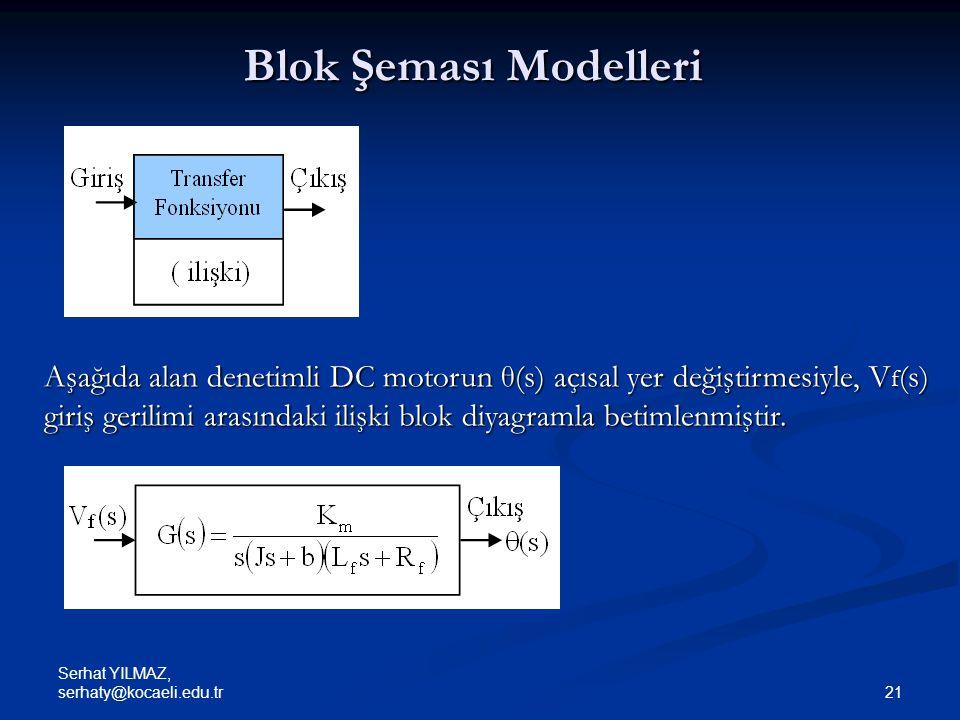 Blok Şeması Modelleri