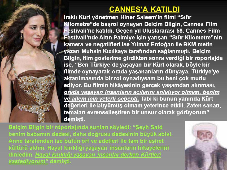 CANNES'A KATILDI Iraklı Kürt yönetmen Hiner Saleem in filmi Sıfır