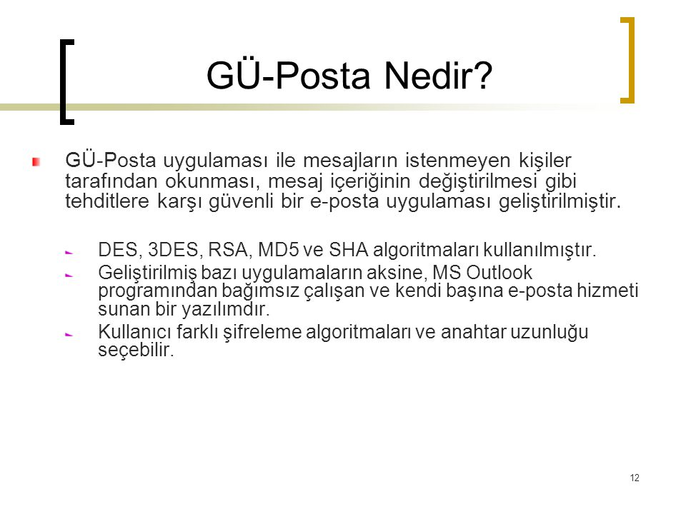 GÜ-Posta Nedir