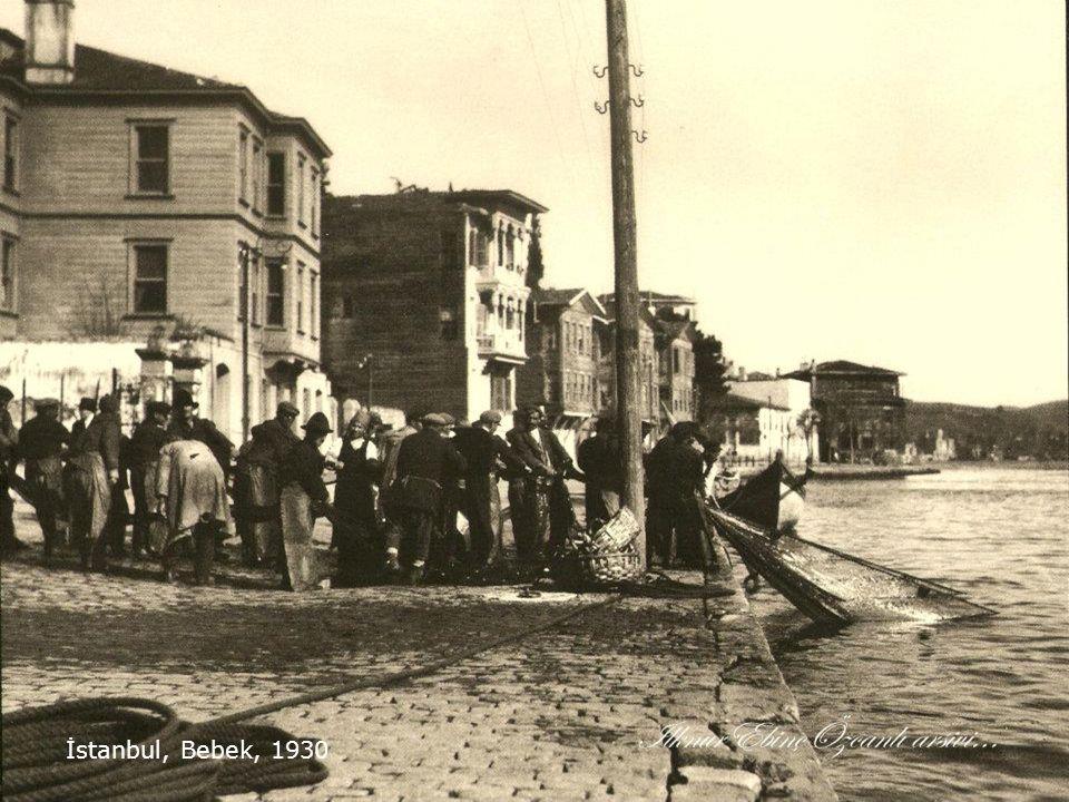 İstanbul, Bebek, 1930