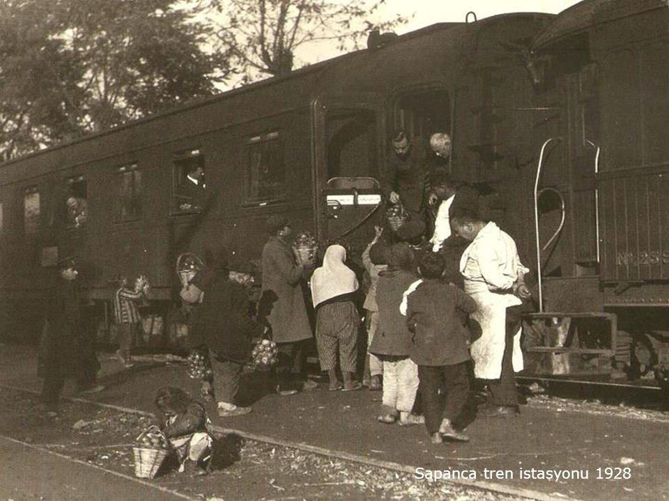 Sapanca tren istasyonu 1928