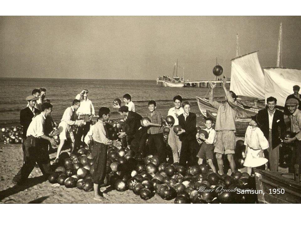 Samsun, 1950