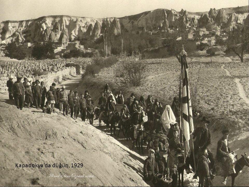 Kapadokya'da düğün, 1929