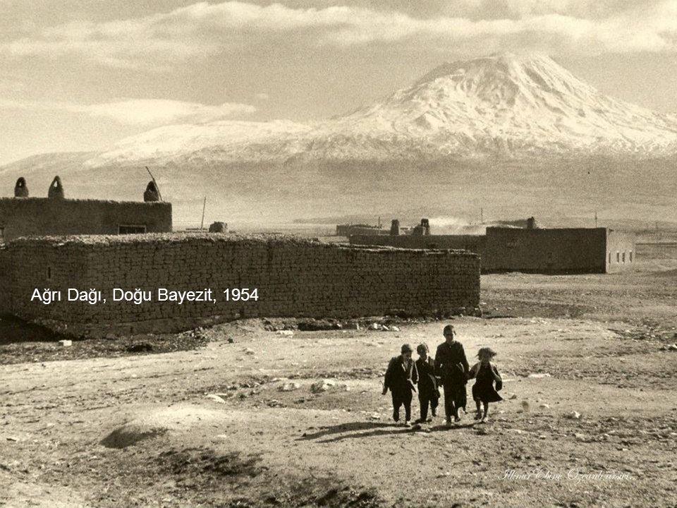 Ağrı Dağı, Doğu Bayezit, 1954