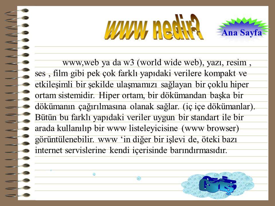 www nedir Giriş Ana Sayfa